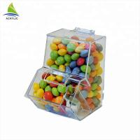 Elegant Small Acrylic Sweet Display Plexiglass Sweet Box Smooth Surface Manufactures
