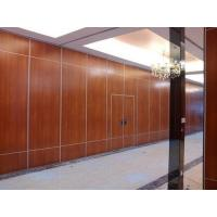 Buy cheap Office Sound Proof Partition Wall , Melamine Surface Sliding Folding Acoustic from wholesalers