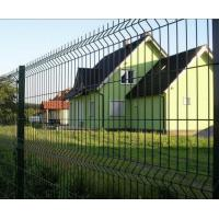3D Curved Wire Mesh Fence Panel For Courtyard / Cottage / Boundary