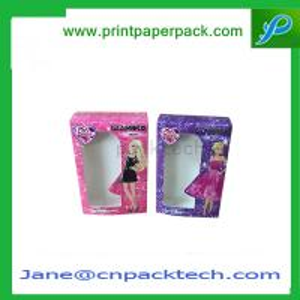 China Custom Printed PVC Window Box Perfume Packaging Box Cosmetic Box  Paper Gift Box on sale