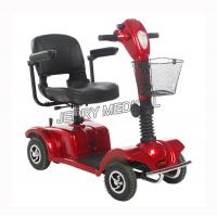 Midi Tiller Adjustable Electric Mobility Scooter Battery Powered Intelligent Controlled Manufactures