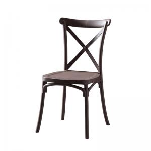 Comfortable Metal Pipe 900mm Dining Chair Ergonomics Manufactures