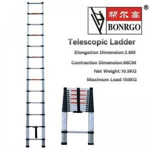 13 Step Aluminium Telescopic Ladder Manufactures