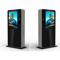 Cheap 42 Inch Stand Alone Free Standing Kiosk LCD Digital Signage Player for sale