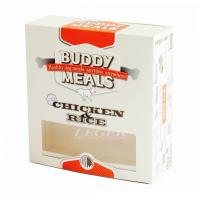 China Dog Meal Pet Food Box With Window 400gsm C1S Paper Material Full Color Printing on sale