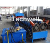 2 In 1 Metal Stud Roll Forming Machine , Sheet Metal Roll Forming Machines Manufactures