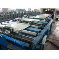 Passive Decoiler Cable Tray Roll Forming Machine 2.55m/min Punch Speed 11 Rollers