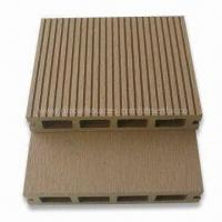 Outdoor Deck Board/Composite Deck Tile, Anti-Slip, No Cracking and No Warping Manufactures