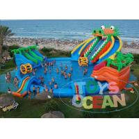 Dragon Huge Adults Inflatable Water Park Slides For Swimming Pool Manufactures