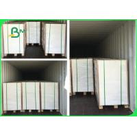 FSC Certificated 300gsm 350gsm 400gsm C1S Ivory Board Paper For Packaging Boxes Manufactures