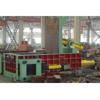 Scrap Press Machine / Hydraulic Metal Baler For Waste Aluminum , Stainless Steel Y81T Series