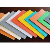 High Density Rigid Durable Fluted Plastic Sheet With Customized Size And Color Manufactures