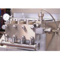 Manually Operated 4t Flow Homogenizer Machine Hydraulic Pressure Adjustment Manufactures