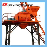 Portable Compulsory Concrete Mixer With 1600 L Feeding Volume 50 m³/h Capacity Manufactures