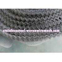 """Crimped Stainless Steel Knitted Mesh Width 30"""" / 42 Inch Wear - Resistance For Oil - Gas Separation Manufactures"""