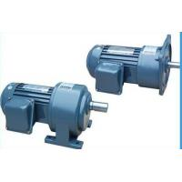Cheap Single Phase Helical Gear Motor Reducer , High Speed Power Transmission Gearbox for sale