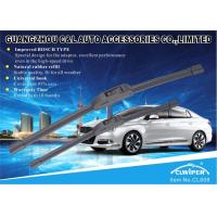 Natural Rubber Soft Wiper Blade Improved Bosch Type Universal Hook Long Life span Manufactures