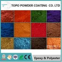 China 82% Gloss Heat Resistant Powder Coat, RAL1015 Light Ivory Electrostatic Powder Painting on sale