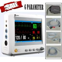 6-Parameter TEMP, Pulse Rate, Respiration, ECG, SPO2, NIBP ICU Patient Vital Signs Monitor Manufactures