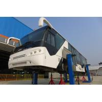 Full Aluminium Body International Airport Bus Aero Bus With IATA Standard