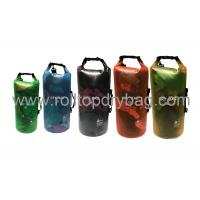 Silkscreen / Digital Printing Transparent Dry Bag For Swimming Water Sports  Manufactures