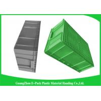 Large Standard Warehouse Plastic Euro Stacking Containers 800*600*340mm Manufactures