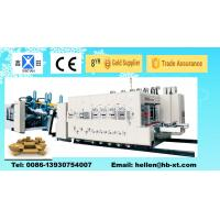 XT-920  2000mm High Speed Automatic Carton Box Production Line with Folder Gluer Inline Manufactures