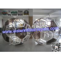 Colorful 1.0mm PVC Sphereing Ball ,  Football With Inflatable Balls Manufactures