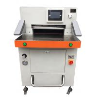 Program Control Automatic Paper Cutting Machine 670mm High Accuracy Manufactures
