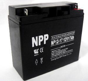 Quality UPS Battery (NP12-17Ah 12V 17AH) for sale