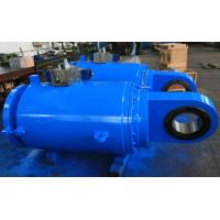 OEM Single Acting Hydraulic Cylinder Used In Metallurgy , Roll And Ship Manufactures