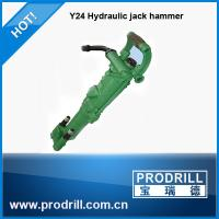 Y24 hand hold pneumatic hydraulic rock drill for quarry and stone Manufactures
