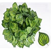 China Rattan Hanging Artificial Grape Vines Plants , Artificial Ivy Vines For Decoration on sale