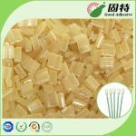 Yellow Block Industrial Hot Melt Glue , Disposable Cotton Swab Hot Melt Pellets Manufactures