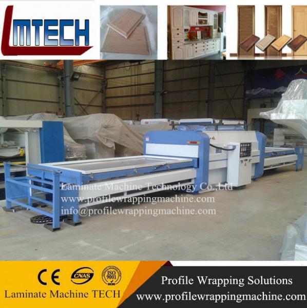 wooden pvc kitchen cabinet door designs vacuum membrane press machine