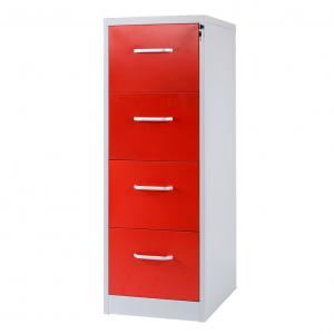 Customized Durable 620mm Four Drawer Vertical File Cabinet Manufactures