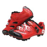 Shockproof Mens SPD Cycling Shoes Water Resistant Anti - Collision Design Manufactures