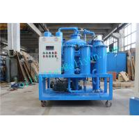 China TYA-I Hydraulic Oil Filtration Plant,Filter Device,Blue Color,Refine machine,waste Industry oil regeneration on sale
