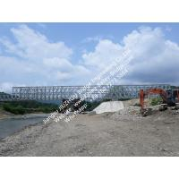 Modular Steel Bailey Bridge Panel Shoring Prefabricated Temporary Rental Q345B Steel Manufactures