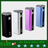 Eleaf iStick 30W Mod Battery With OLED Screen Ismoka iStick 2200mah E Cigarette Battery Manufactures