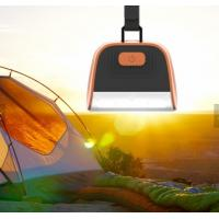 Quality Water Proof LED Camping Lantern Lights 4000mAh Power Bank Detachable Hanger for sale