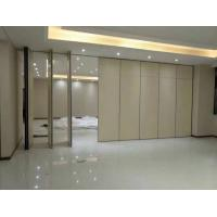 Decorative Folding Wooden Soundproof Partition Wall Opening Style Manufactures