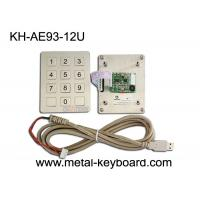 Customized Numeric Stainless Steel Keypad USB Interface Metal Dome Connect PCB Key Manufactures