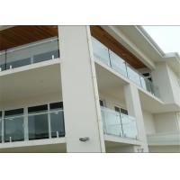 Decorative Frameless Glass Balcony Systems For Large Modern Hotels / Restaurants Customized Manufactures