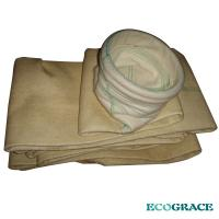 Cement Kiln Bag Filter Nomex High Temperature Resistant, Resists flexing and abrasion Nomex Filter Bag Manufactures