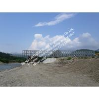 Single Lane Steel Bailey Bridge Rental Prefabricated Modular Shoring System Support CB200 Manufactures