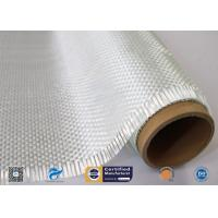 Heat Insulation Woven Roving Fiberglass Fabric For Robot Processes Manufactures