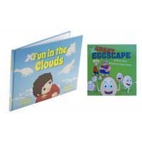 CMYK Full Color Childrens Book Printing Case Bound With Section Sewn Manufactures