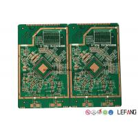 China 6 Layers FR4 Medical Equipment PCB Double Sided with OSP Surface Finish on sale