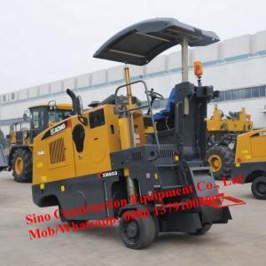 Asphalt Civil Road Mini Cold Milling Machine XM503K With Four Wheel Manufactures